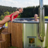 Holzklusiv Hottub - Wellness im eigenen Garten genießen