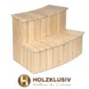 Holzklusiv Holztreppe Lärche
